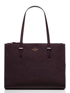 cedar street jensen | Kate Spade New York  I love absolutely everything about this bag: the color, size & interior lining.