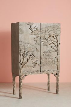 Slide View: Land & Sky Bar Cabinet We believe that tattooing can be a method that's been used since … Cabinet Furniture, Furniture Decor, Living Room Furniture, Furniture Design, Rustic Furniture, Modern Furniture, Asian Furniture, Furniture Dolly, Furniture Movers