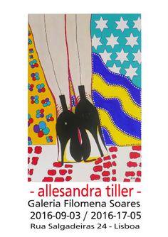 Allesandra Tiller - Ausstellungsplakate - Dekorative Kunst für jeden Geldbeutel