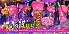 The Specialists in Candy Buffets, Stations, and Catering – Hollywood Candy Girls