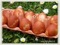 Anleitung wie ihr Ostern Eier natürlich selber färben könnt mit Zwiebelschale. Link:http://www.familienkost.de/ostereier_natuerlich_faerben.php