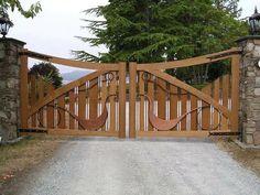 Garden Bridge, Homesteading, Outdoor Structures, House Design, Wood Gates, Landscape, Outdoors, Home Decor, Style