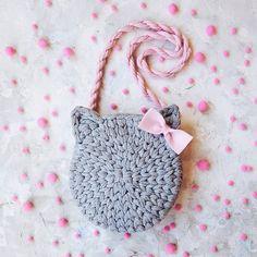 Marvelous Crochet A Shell Stitch Purse Bag Ideas. Wonderful Crochet A Shell Stitch Purse Bag Ideas. Bunny Crochet, Crochet Amigurumi, Crochet Girls, Cute Crochet, Crochet For Kids, Crochet Crafts, Crochet Baby, Crochet Ideas, Crochet Handbags