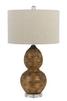 CAL Lighting BO-2570TB BERGAMO 1 Light Table Lamp