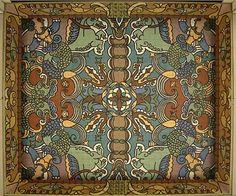 para a interpretação dos painéis decorativos, em mosaicos cromados, do pórtico do Palácio Atlântico, na Praça D. João I, da autoria de Jorge Barradas.