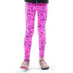Gem Pink Paris Leggings