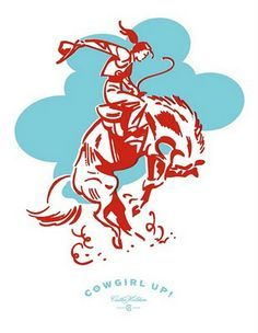 I swear Cathe Holden is the best! A turquoise and red cowgirl??? how did she know? ITS PERFECTION!!