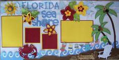 Florida Cricut Layout using Life's a Beach
