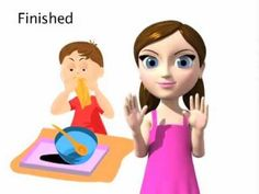 I am loving the warm temperatures but I am 'Finished' with all this wind!! Learn the ASL sign for 'finished' :)