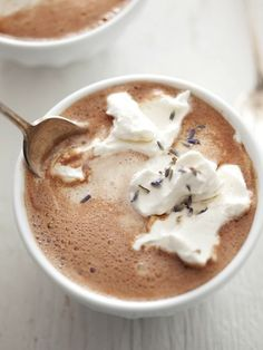 Lavender Hot Chocolate