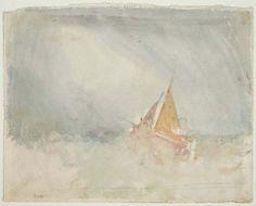 Joseph Mallord William Turner, Ship and Cutter, sobre 1825.