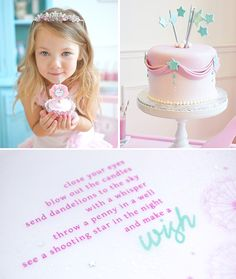 Minha Festa preferida eveeeer!!! Wish Upon A Star Girls Birthday party
