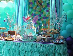 "Mermaids, Ariel, pirates / Birthday ""Sophie's mermaid bash""   Catch My Party"