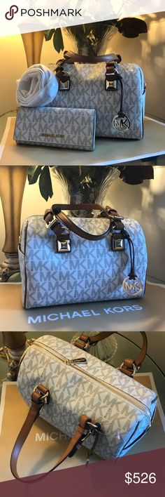 🌲Michael Kors Set🌲 Michael Kors Purse And Wallet Both Brand New With Tags! 100% Authentic ..!🌲 Michael Kors Bags Crossbody Bags