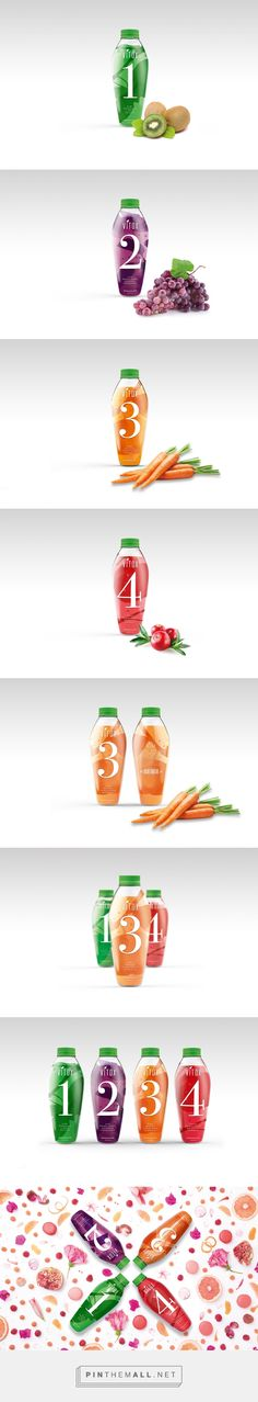 Vitox Juice by Pin curated by Barbara Gonzalez, ElisavaPack and Valentina Uribe. #SFields99 #packaging #design