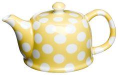 Classic Coffee & Tea White Dots Teapot, Banana Yellow, 20 Oz. by Yedi Houseware, http://www.amazon.com/dp/B001DJ31LC/ref=cm_sw_r_pi_dp_qFxSqb0RS99Y4
