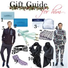 """Gift Guide for him from Madame Kuku"" by madamekuku on Polyvore"