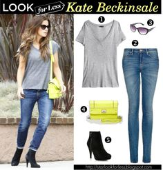 Kate Beckinsale's Look for Less