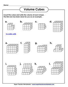 Word Problem Worksheets for Kindergarten Worksheet Ideas Super Teacher Worksheets Multiplication Volume Worksheets, 5th Grade Worksheets, 4th Grade Math Worksheets, Geometry Worksheets, Printable Math Worksheets, Teacher Worksheets, 5th Grade Math, Worksheets For Kids, Capacity Worksheets