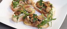 champignon toast