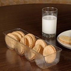 FANTASTIC GLASS COOKIES TRAY