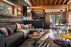 Cozy and Luxurious Mountain Apartments with High Quality Designs in Les Arcs, France