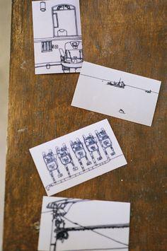Name Card by Mitsuko Kumamoto