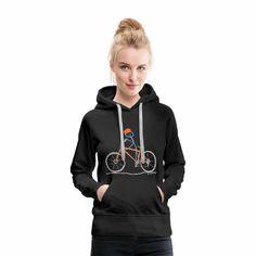 Homoehe Pullover & Hoodies - Lesbians eat what - Frauen Premium Hoodie Schwarz Pullover Designs, T Shirt Designs, Tostadas, Sweat Shirt, T Shirt Message, I Love Music, Innocent Girl, Mama Shirt, Boho Designs