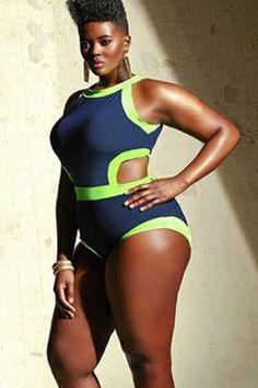 Monokini Plus Size Swimsuit - Global Wholesale Brands Inc. - $18