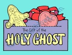 HOLY GHOST: Sunbeam Lesson 7, The Holy Ghost Helps Me, Sunday Savers book or CD-ROM, gospelgrabbag.com, Primary Lesson Helps, Primary 1 manu...