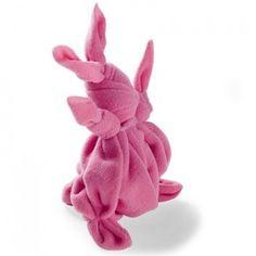 Hoe maak je een handdoek in een konijn vouwen
