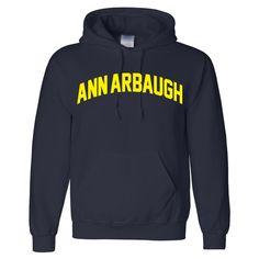 Image of Ann Arbaugh Collegiate Hoodie (Navy)