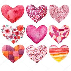 Valentine& day watercolor heart holiday love object - Valentine& day watercolor heart holiday love object Informations About Valentinstag Aquarell H - Valentines Watercolor, Valentines Day Drawing, Valentines Day Clipart, Valentines Art, Valentines Day Hearts, Valentine Day Cards, Valentines Illustration, Heart Illustration, Watercolor Heart