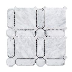 Jeff Lewis Windsor 11-5/8 in. x 11-5/8 in. x 10 mm Marble Mosaic Tile-98473 - The Home Depot