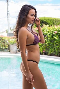 Wicked Weasel Purple Venus Bralette  Size Medium Fashion Clothing Shoes