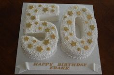Birthday Cake: 50th Birthday Cake
