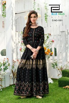 Order #Shaheen Long GOWN Mom1250 Daughter 1180 on WhatsApp number +919619659727 or ArtistryC.in Kids Gown, Blue Hill, Girls Wear, Lehenga Choli, Kurti, Boy Or Girl, Pajamas, Daughter, Gowns
