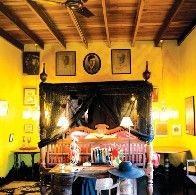 Aussergewöhnliche Hotels, Helgas Folly Sri Lanka, Schlafzimmer