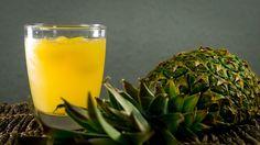 Ananas-Eistee mit grünem Tee, ein leckeres Rezept aus der Kategorie Frucht.