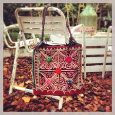 Ethnic bag, vintage fabrics. By Living International.  Follow us on facebook!!! https://www.facebook.com/pages/Living-International