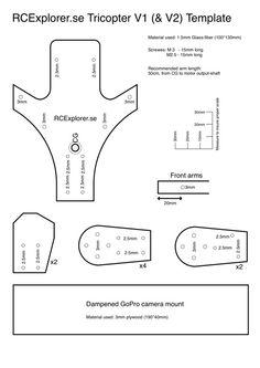 Zelfbouw tricopter | modelbouwforum. Nl.