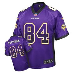 9a3557304 Men s Cordarrelle Patterson Elite Purple Nike Jersey  NFL Minnesota Vikings   84 Drift Fashion Minnesota
