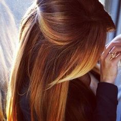 long hair cuts with layers- I like the ombré with the style