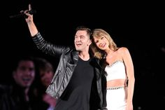 Pin for Later: Please Welcome to the Stage: Every Single Surprise Taylor Swift Guest Andy Grammer
