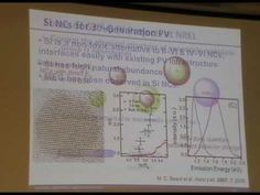 Synthesis of Nanomaterials for PV and PEC Water Splitting II - Nathan Neale