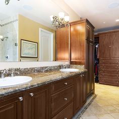 Open Closet Bathroom Design Ideas, Pictures, Remodel and Decor