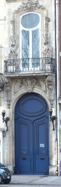 Door in Paris by Mich Lancaster