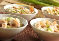 Shrimp & Rice Scampi