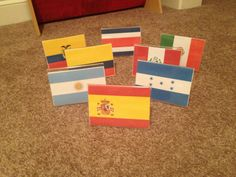 Classroom management idea! Each table can be named after something. I have used continents, planets, New England states and this year...Spanish speaking countries!