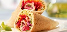 3 dicas super fáceis e deliciosas de sanduíches para fazer em casa - Rolinhos lights